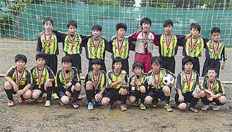 初優勝した桜井報徳FC