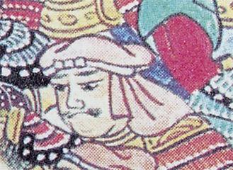 合戦図屏風に描かれた江雪斎
