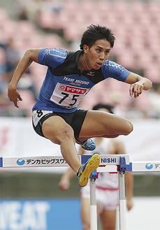 昨年の日本選手権は優勝(写真提供ミズノ)