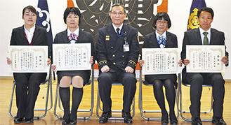 (左から)服部さん、澤地さん、寺岡さん、北井さん