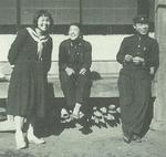 高校時代の小野さん(左)