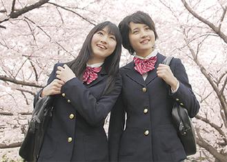 春は着心地よい制服で