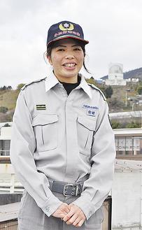 松田分署に勤める金城さん