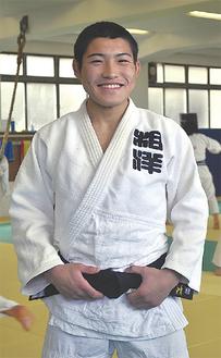 66kg級に出場する相田君