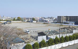 工場と研究所の新設予定地