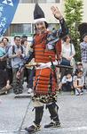 今年、早雲公に扮する合田雅吏さん(写真は昨年)