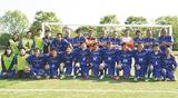 5人が所属するAzul神奈川FC