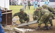 九都県市合同で防災訓練