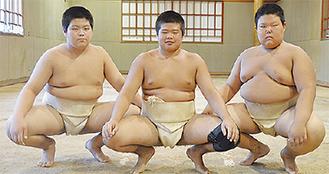 左から星君、原尾君、依田君