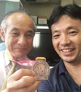 大垣さん、念願の銅メダル