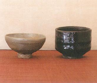 右が森岡さん、左が高橋さんの作品