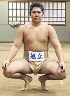 スピード感ある相撲が持ち味の高木君