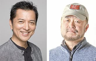 榎木孝明さん(左)と五十嵐匠監督