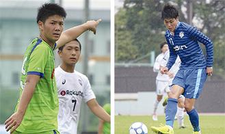 鈴木選手(右)と和田選手