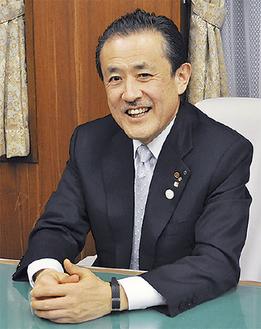小田原箱根商工会議所の鈴木悌介会頭