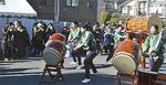 外郎太鼓の演奏が会場を盛り上げた