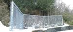 斜面の崩落防止フェンス