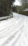 雪の路面も多い