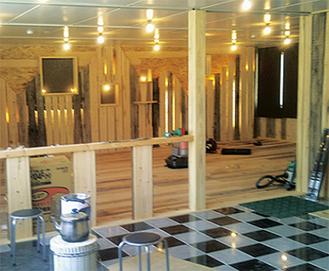 2012年には小田原産木材を仮設飲食店「報徳庵」に寄贈