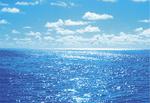 広がる海と空が、先祖への想いを受け止めてくれる