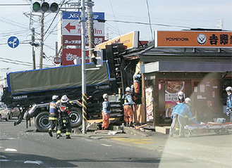 飯泉で発生した事故