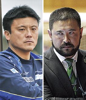 曺監督(左)と奥村監督
