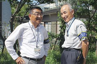 (左から)中戸川さん、中村さん