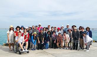 沖縄旅行の様子