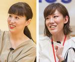 キタムラK2・鈴木さん(右)とヘザー・堀井さん(写真提供=ラスカ小田原)