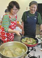 参鶏湯(サムゲタン)で暑さ対策