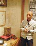 小田原宿本陣脇本陣の歴史を説明してくれた清水修一郎さん