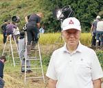 日光市でのクランクインにも立ち会った高橋弘会長。映画製作ではシニアエグゼクティブアドバイザーを務めている