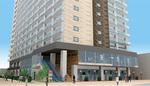 建替え決議が成立した新幹線ビルは、2023年3月の竣工引渡しをめざす。地下1階・地上17階建を予定(完成イメージ ※今後変更の可能性あり)