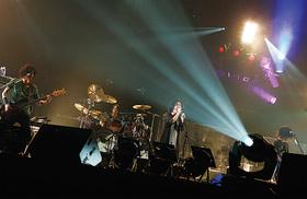 日本武道館でのライブの様子(2011年)