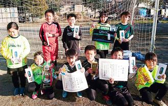 4年生3人、3年生7人で挑んだ早川SC