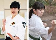 武道家女子高生が全国へ