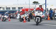 交通安全の集い、大賑わい