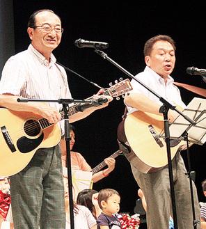 「ヒデ2」の近藤さん(左)と稲田さん