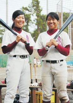 堀田さん(左)と北原さん