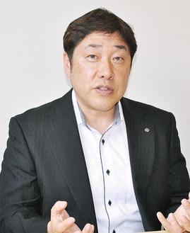 田中勉さん(54)小田原市扇町在住(株)エイチ・エス・エー代表取締役社長