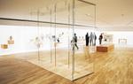 透過性の高いガラスを採用し改装したピカソ館