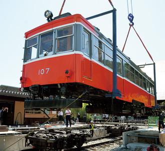 木造電車のチキ1形から、100年の歴史を駆け抜けた車両
