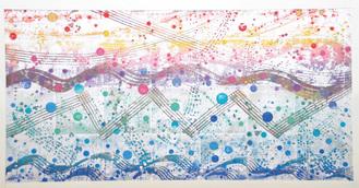 小田原の明るい未来を表現した芳澤さんの作品