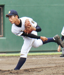 力投する本田さん