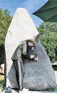 56年ぶり石の彫刻祭