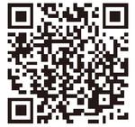 QRコードから公式ウェブサイトへアクセスできる
