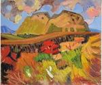 二子山を描いた作品