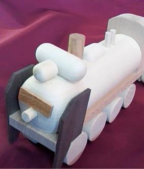 木工玩具「デゴニくん」