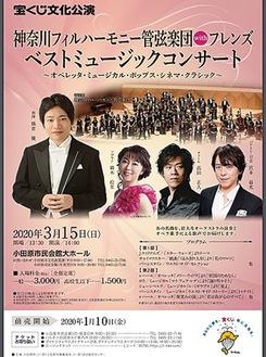 コンサートのポスター