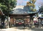 整備が進む栢山神社